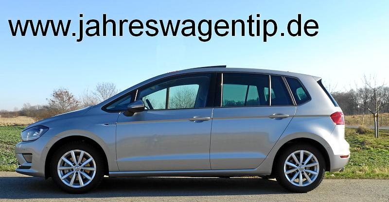 Volkswagen VW Golf Sportsvan jahreswagen http://www.jahreswagentip.de