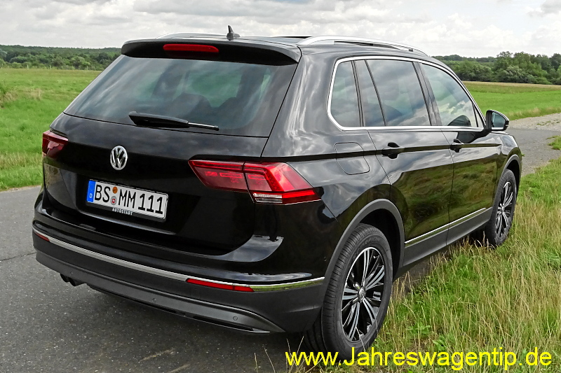 vw tiguan highline dsg tdi 140 kw jahreswagen tiguan. Black Bedroom Furniture Sets. Home Design Ideas