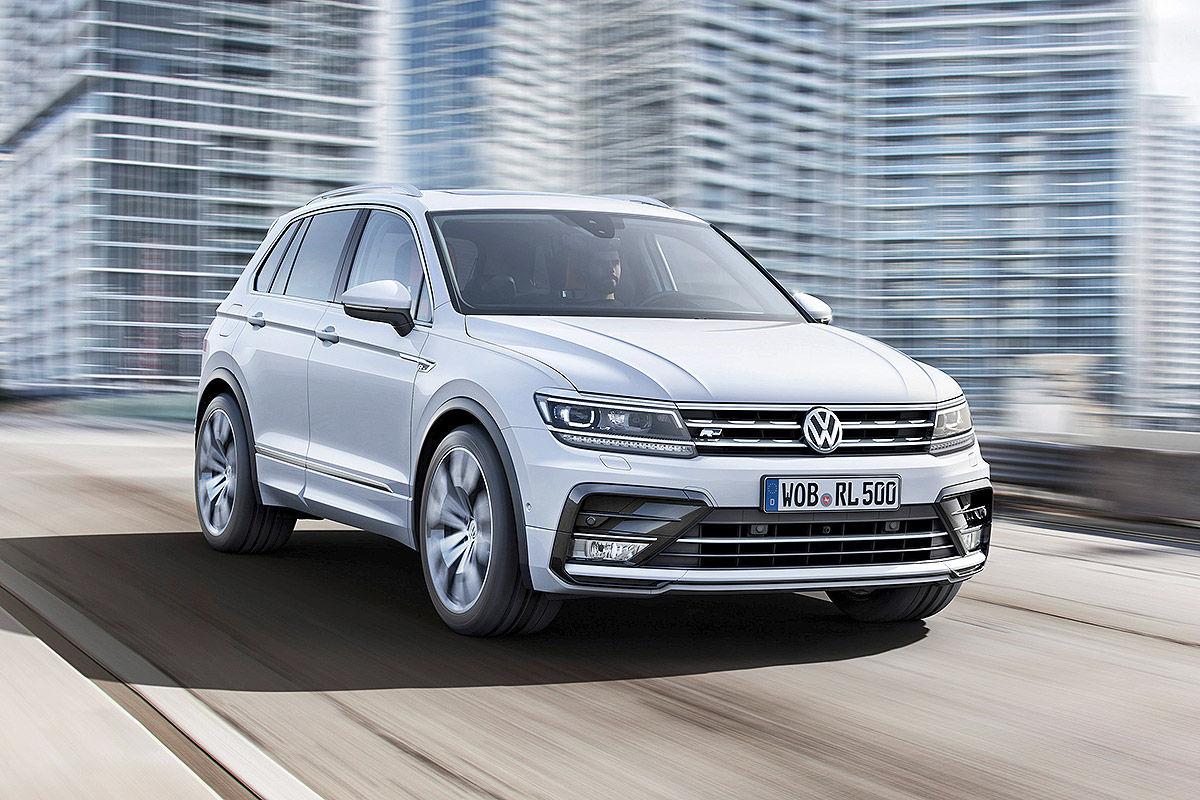 Volkswagen VW Tiguan Hihline neues Modell jahreswagen http://www.jahreswagentip.de